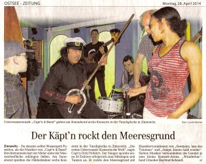Ostseezeitung, 28. April 2014