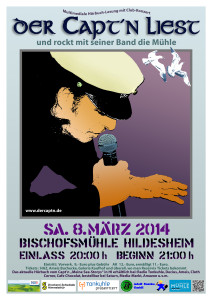 02 Captn Hörbuch Lesung Plakat A3