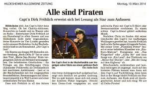 HAZ Artikel Mühlen-Lesung 10.3.2014