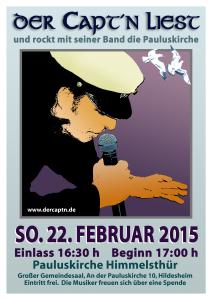 03 NEU Captn Lesung 22.2.2015 Plakat A3