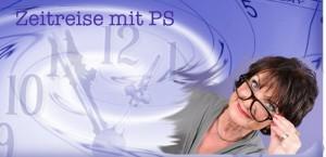 Zeitreise mit PS Logo